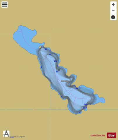 Ross Lake Fishing Map - i-Boating App
