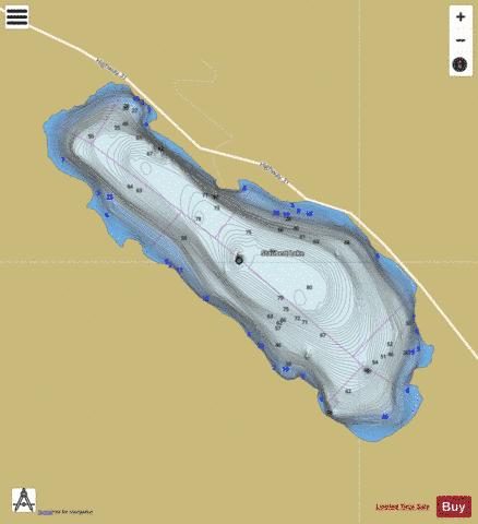 Staubert Lake Fishing Map - i-Boating App