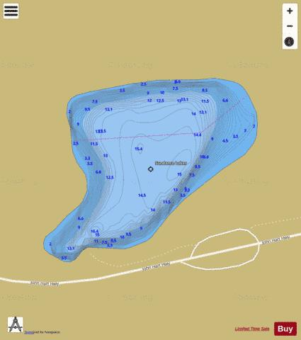 Sundance Lakes Fishing Map - i-Boating App