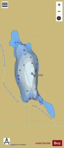 Tsitniz Lake Fishing Map - i-Boating App