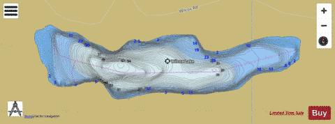 Wilcox Lake Fishing Map - i-Boating App
