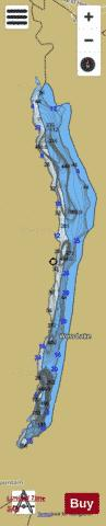Woss Lake Fishing Map - i-Boating App