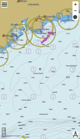 Yarmouth to/a Halifax Marine Chart - Nautical Charts App