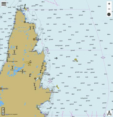 Motion Bay to/� Cape St Francis Marine Chart - Nautical Charts App