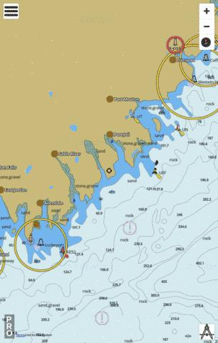 Liverpool Harbour to/a Lockeport Harbour Marine Chart - Nautical Charts App