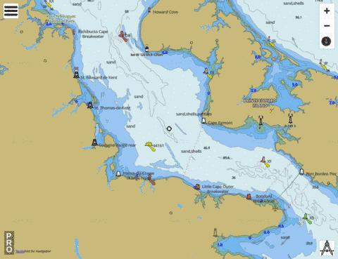 Cape Tormentine a/to West Point Marine Chart - Nautical Charts App