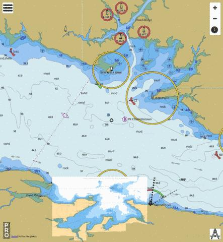 Pictou Island to Tryon Shoals Marine Chart - Nautical Charts App