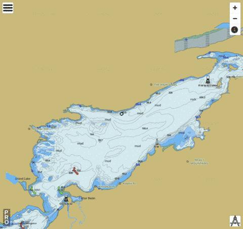Lake Melville Marine Chart - Nautical Charts App