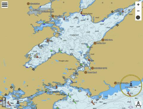 Bras D'Or Lake Marine Chart - Nautical Charts App
