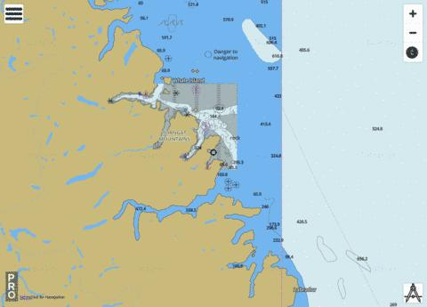 North Head to/� Murphy Head Marine Chart - Nautical Charts App