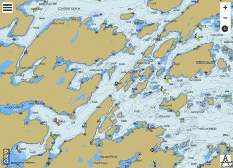Bonavista Bay, Southern Portion Marine Chart - Nautical Charts App