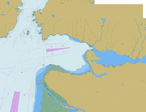 Approaches to\Approches a Vancouver Harbour Marine Chart - Nautical Charts App