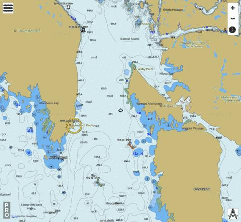 Laredo Sound Marine Chart - Nautical Charts App