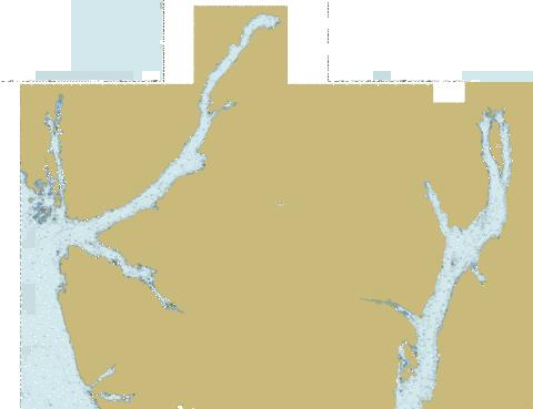 Laredo Channel, Laredo Inlet and\et Surf Inlet (part 2 of 2) Marine Chart - Nautical Charts App