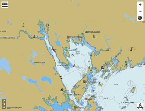 Passamaquoddy Bay and St. Croix River Marine Chart - Nautical Charts App
