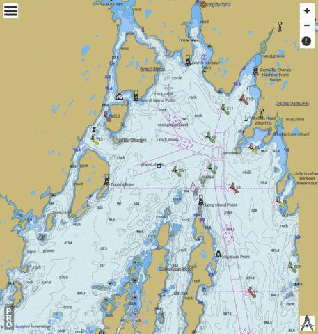 Head of/Fond de Placentia Bay Marine Chart - Nautical Charts App