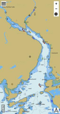Sheet Harbour Marine Chart - Nautical Charts App