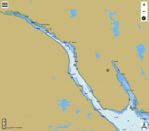 Country Harbour Marine Chart - Nautical Charts App