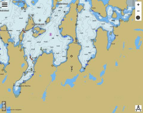 Lewisporte and Approaches and Loon Bay Marine Chart - Nautical Charts App