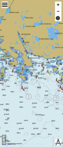 Chebucto Head to Betty Island Marine Chart - Nautical Charts App
