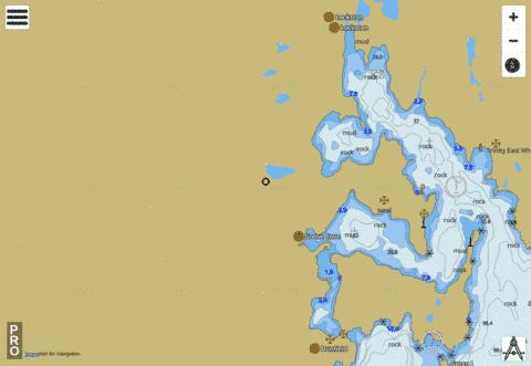 Trinity Harbour Marine Chart - Nautical Charts App