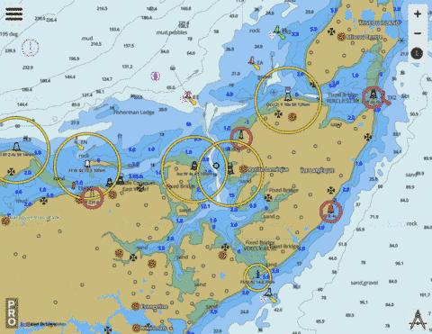 Caraquet Harbour, Baie de Shippegan and/et Miscou Harbour Marine Chart - Nautical Charts App