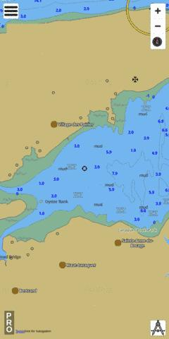 Continuation A Marine Chart - Nautical Charts App