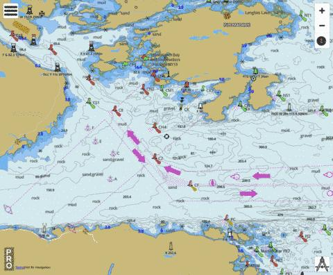 Canso Harbour to Strait of Canso Marine Chart - Nautical Charts App