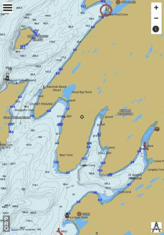 St. Mary's Harbour and Adjacent Anchorages/et mouillages adjacents Marine Chart - Nautical Charts App