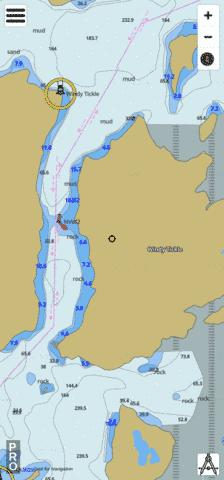 Windy Tickle Marine Chart - Nautical Charts App