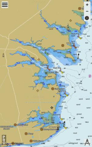 Murray Harbour to/� Boughton Bay Marine Chart - Nautical Charts App