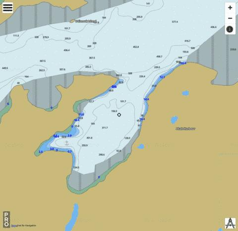 Okak Harbour Marine Chart - Nautical Charts App