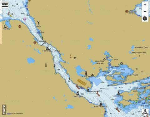 Strait of Canso Marine Chart - Nautical Charts App