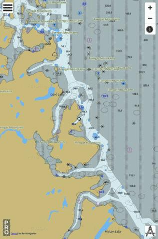 Osborne Point to Cape Kakkiviak Marine Chart - Nautical Charts App