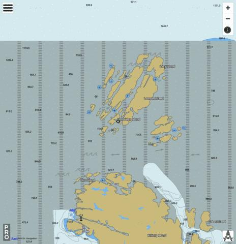 Gray Strait and Button Islands Marine Chart - Nautical Charts App