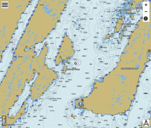 Presque Harbour to Bar Haven Island and Paradise Sound Marine Chart - Nautical Charts App