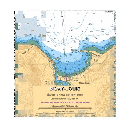Mont-Louis Marine Chart - Nautical Charts App