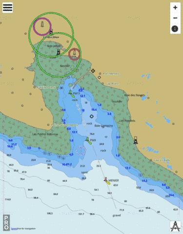 Baie Ellis Marine Chart - Nautical Charts App