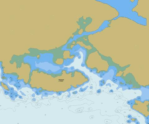 Blunden Harbour Marine Chart - Nautical Charts App