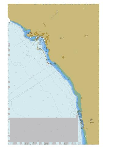 Powell River and\et Westview Marine Chart - Nautical Charts App