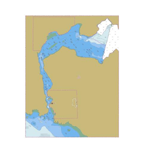 Nitinat Narrows to\a Nitinat Lake Marine Chart - Nautical Charts App