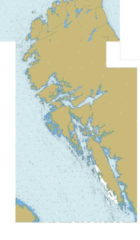 Inlets in\Entree en Campania Islands Marine Chart - Nautical Charts App
