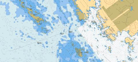Approaches to \ Approches a Parry Sound North Marine Chart - Nautical Charts App