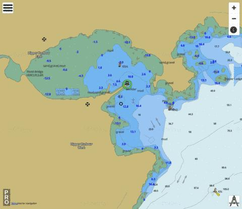 Dipper Harbour Marine Chart - Nautical Charts App