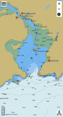 Musquash Harbour Marine Chart - Nautical Charts App
