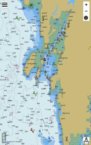 Yarmouth Harbour and Approaches/et les approches Marine Chart - Nautical Charts App