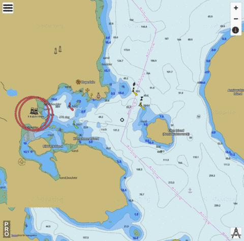 Hopedale Harbour Marine Chart - Nautical Charts App
