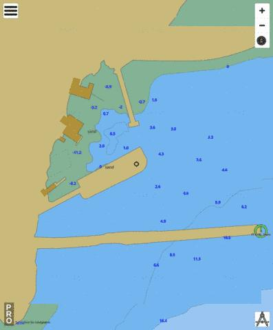 Cape St. Marys Marine Chart - Nautical Charts App