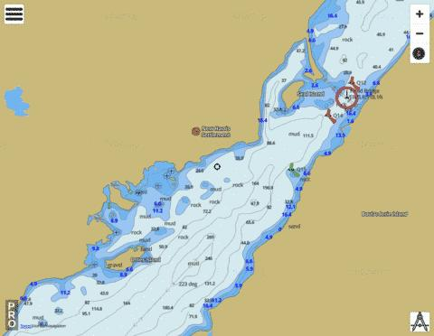 Otter Harbour Marine Chart - Nautical Charts App