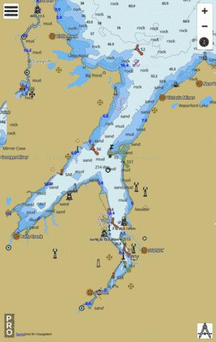 Sydney Harbour Marine Chart - Nautical Charts App